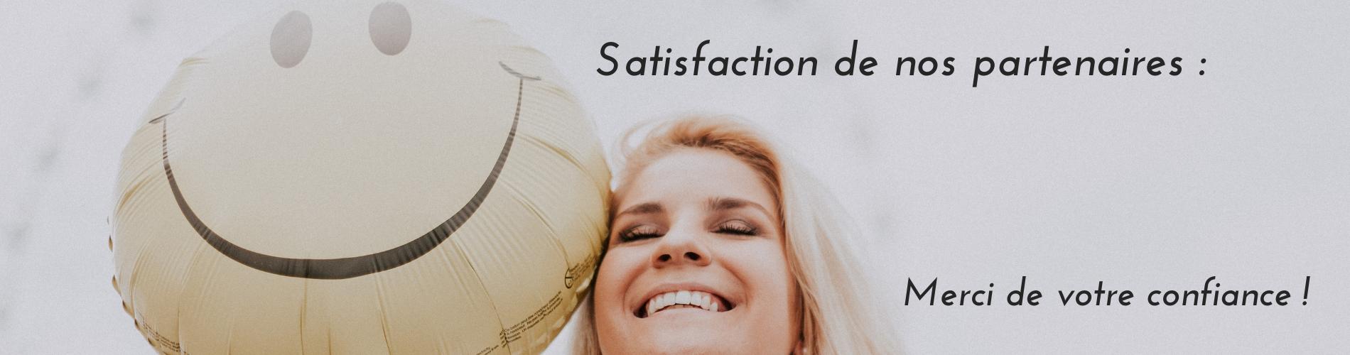 Taux de satisfaction Ruffel